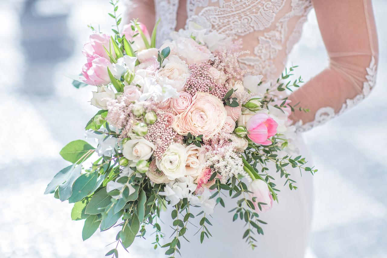 Букет невесты, свадебный букет невесты заказать 61
